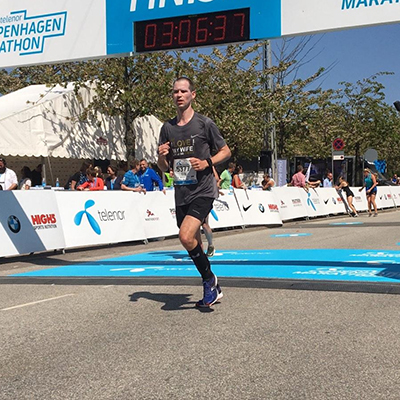 Erik Hoving, Marathon van Kopenhagen