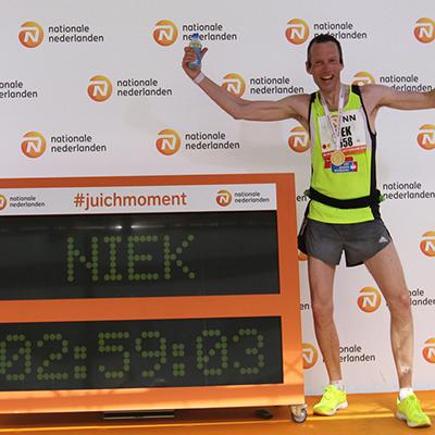 Niek Hoogwout, Rotterdam Marathon (2u59)
