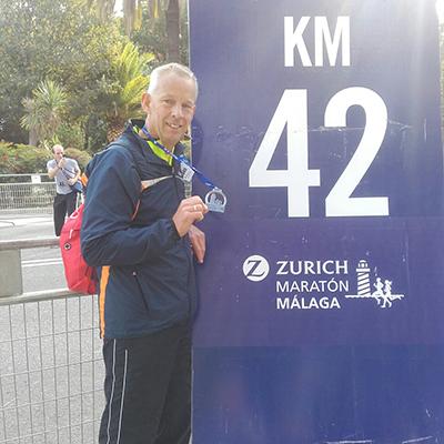 Marcel van Rijswijk, Malaga Marathon
