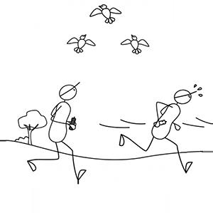 Sportrusten Hardlopen