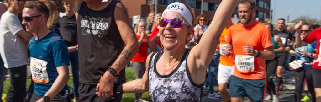 Waarom ga je huilen van een marathon?