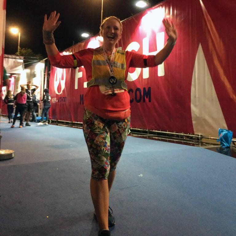 Marije, Marathon Sneek (4u55)