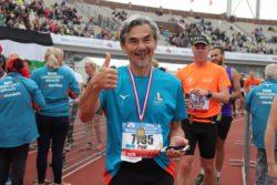 Wat een prachtige belevenis die 100 dagen en dan ook nog eens marathon