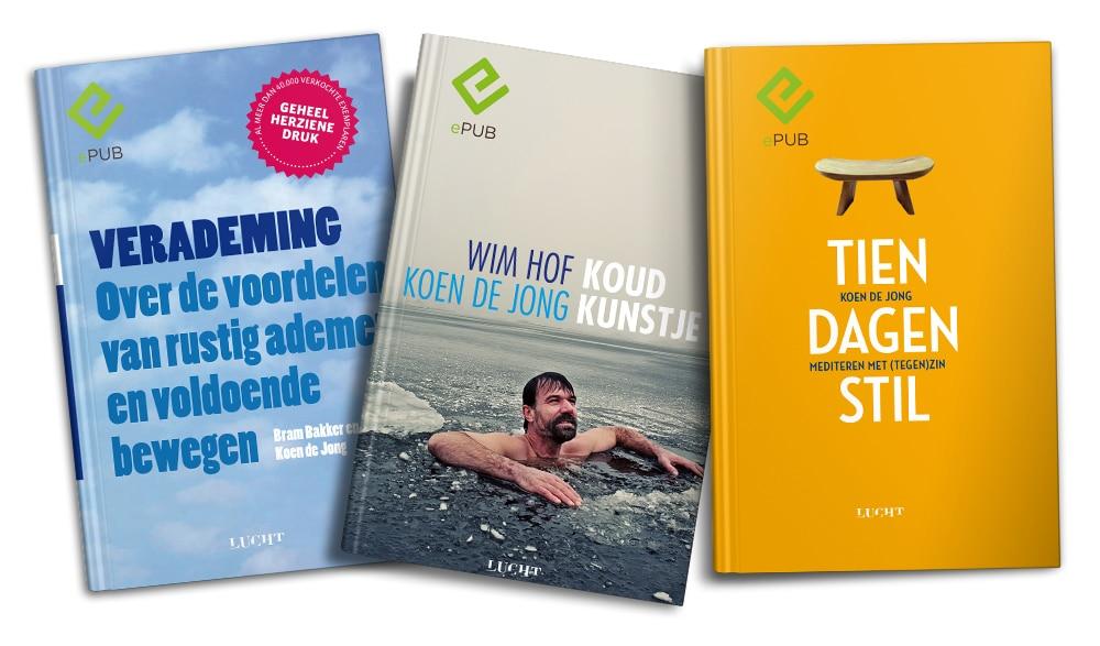 e-books Verademing, Koudkunstje en Tien dagen stil
