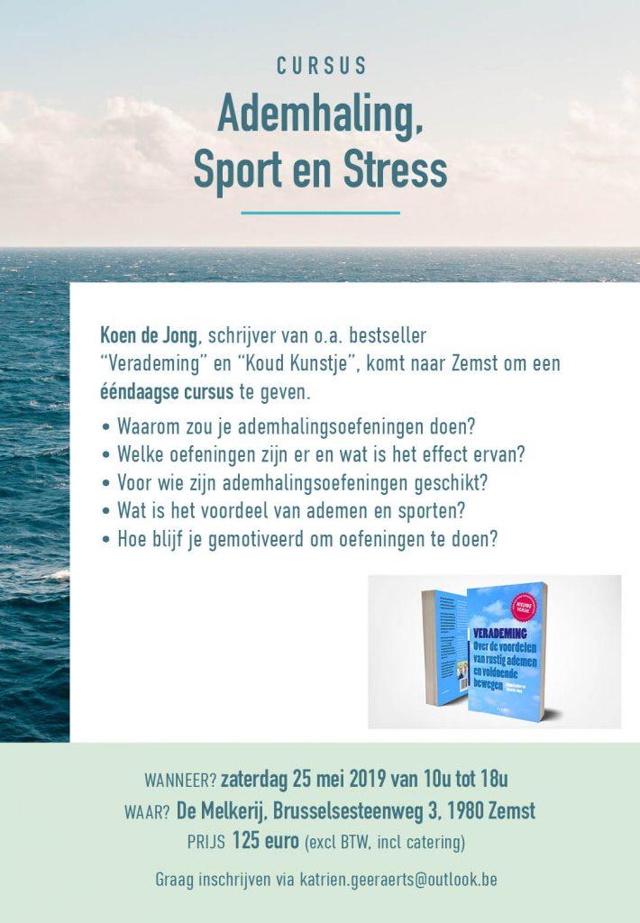 Cursus Ademhaling, Sport en Stress, Mechelen