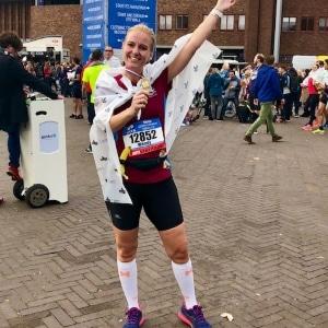 Wendy Dekker, Amsterdam Marathon - Ervaring met 100 dagen Sportrusten Programma