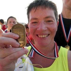 Annet Bosman, halve van Amsterdam - Ervaring met 100 dagen Sportrusten Programma