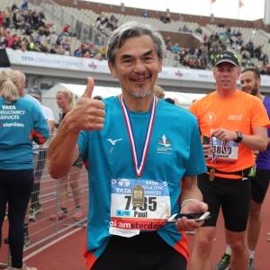 Paul, Marathon van Amsterdam (2018) - Ervaring met 100 dagen Sportrusten Programma
