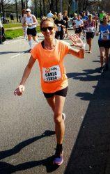 De marathon was zo leuk. Ik heb heerlijk gelopen van het begin tot het eind.