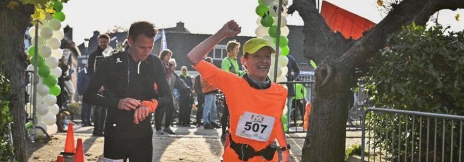 Bijzondere ontmoeting bij Ronde Venen Marathon
