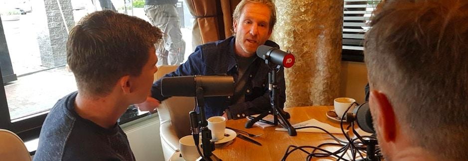 Het 14-kilometer-schema in podcast De Pacer van het AD