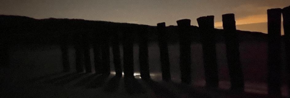 Nachtloop in Schoorl: vreemde gedachten