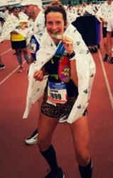 Sportrusten heeft mij niet alleen PR's gebracht. Wat het mij vooral brengt is, weer of geen weer, dat ik altijd zin heb om te lopen.
