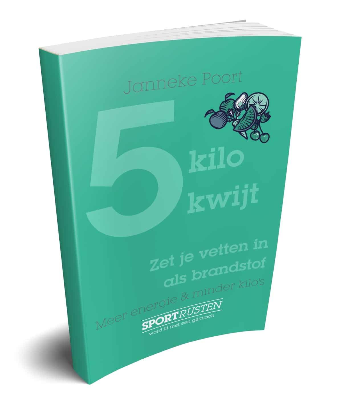E-book 5 kilo kwijt - Janneke Poort