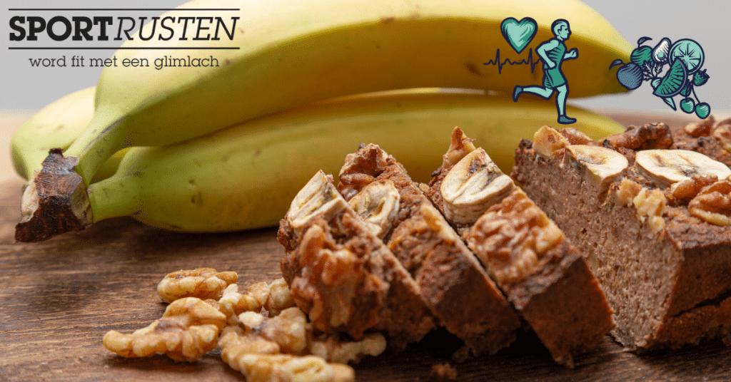 Bananenbrood van Janneke Poort: een must voor hardlopers