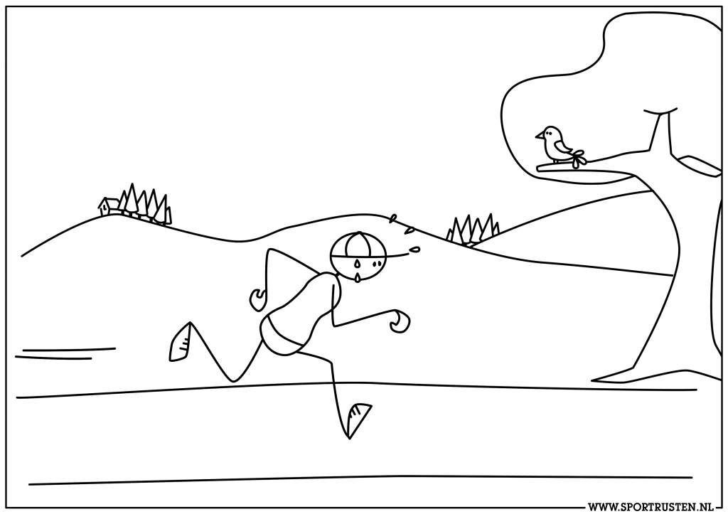 8.rennend poppetje