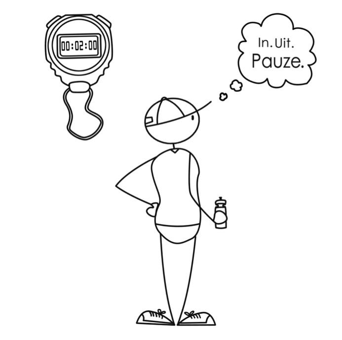 Ademhaling voor het lopen