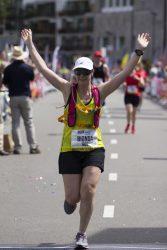 Mijn marathon hartslag was mijn kompas en mede daardoor heb ik het gehaald