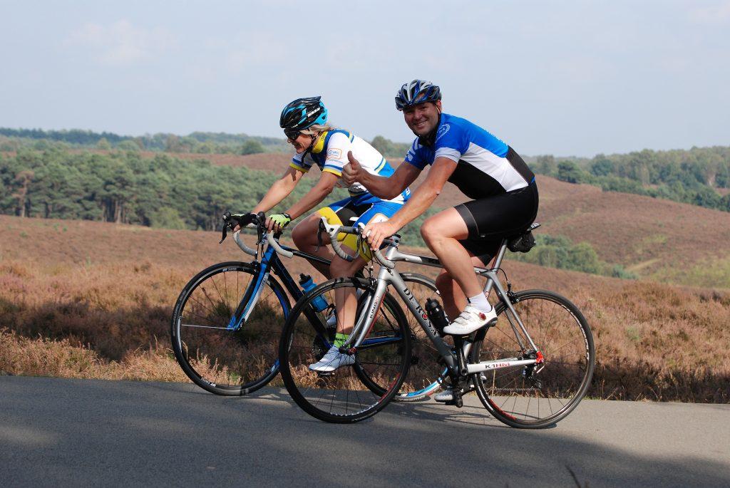 Aart Vierhouten   Sportrusten: meer dan hard fietsen