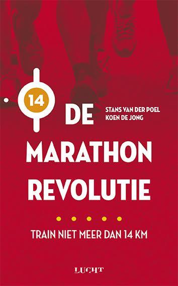 Boek De Marathonrevolutie (Koen de jong & Stans van der Poel)