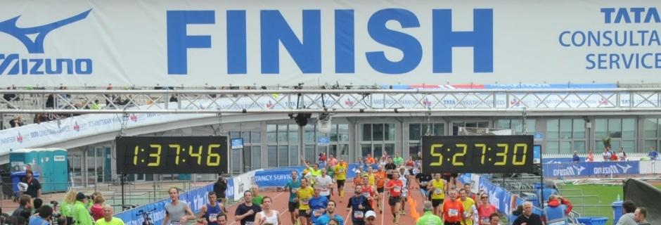 Marathon hoeveel km