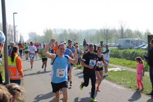 Eigenlijk heb ik in de trainingen niet meer dan 12 km gelopen en toch een pr gelopen.