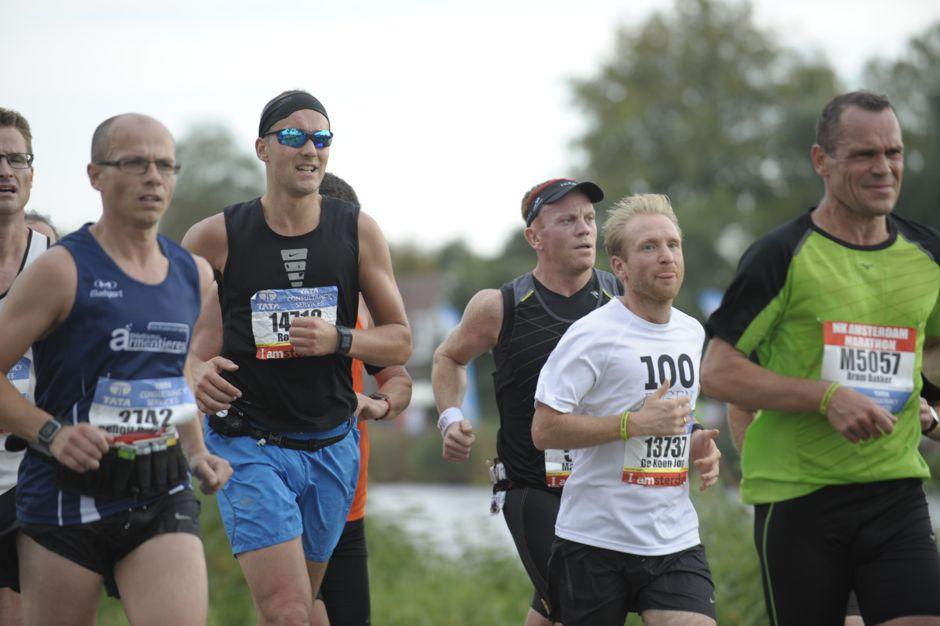 trainen voor marathon