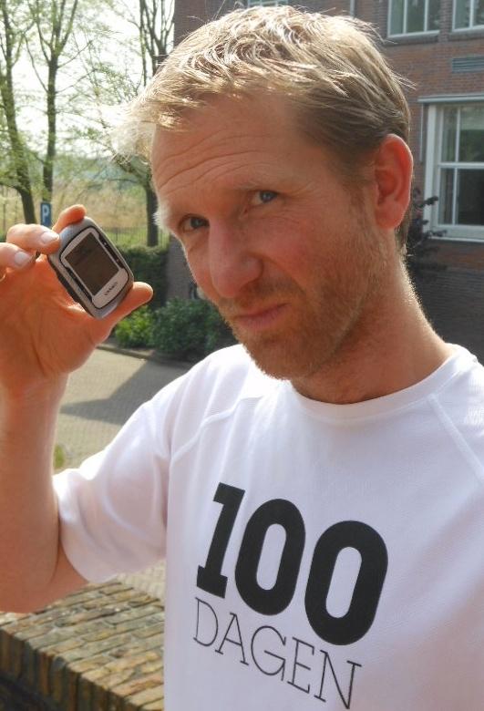 Koen de Jong met GPS