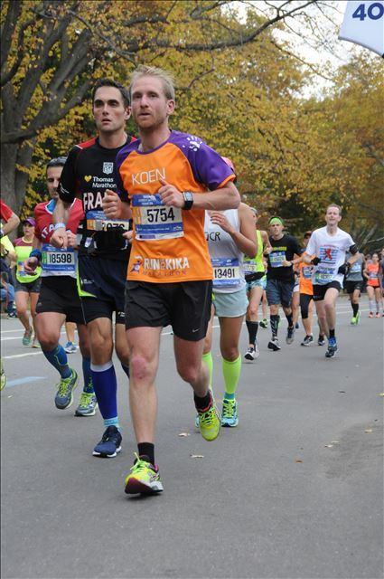 Marathon New York goed