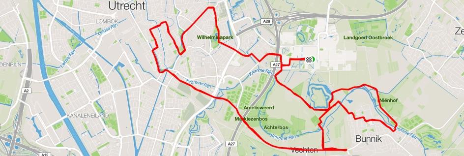 De marathon van Utrecht: Z.W.A.A.R.