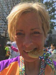 Ik heb de marathon gelopen in 3:57:42 en ben supertrots!