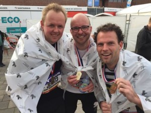 Tim de WIt_finish halve marathon Berlijn