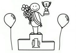 cartoon-podium
