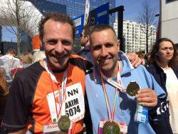 Ik zat echt helemaal kapot, door me te concentreren op mijn ademhaling heb ik de marathon toch nog in een redelijk tempo kunnen uitlopen.