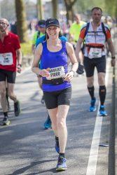 Ik wil jullie bedanken voor het enthousiasme over het hardlopen. Door jullie heb ik een echte marathon kunnen lopen.