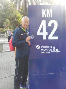 Een topmarathon gaf mij vertrouwen in het 14K marathonschema. Geen pijntjes en geen oververmoeidheid.
