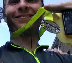 In december koste het me nog moeite om tien kilometer in een uur te lopen, dus er is een hoop vooruitgang geboekt!